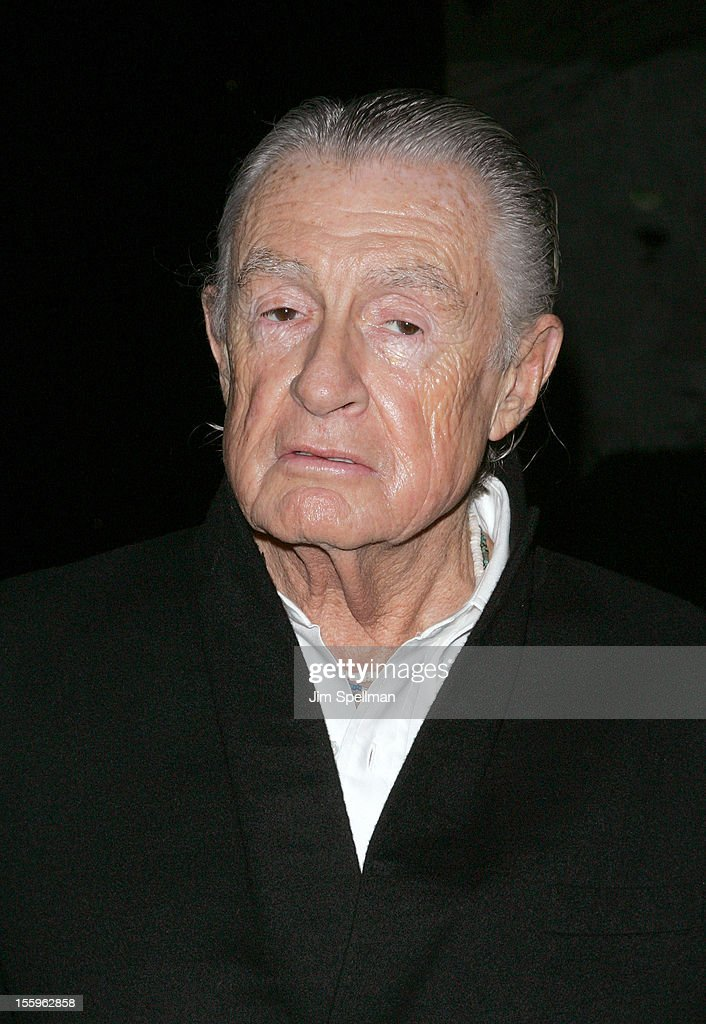 Director <a gi-track='captionPersonalityLinkClicked' href=/galleries/search?phrase=Joel+Schumacher&family=editorial&specificpeople=210507 ng-click='$event.stopPropagation()'>Joel Schumacher</a> attends the Gato Negro Films & The Cinema Society screening of 'Hotel Noir' at Crosby Street Hotel on November 9, 2012 in New York City.