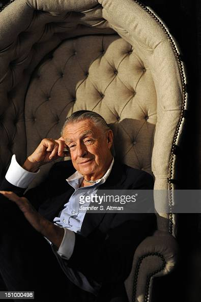 Director Joel Schumacher is photographed for Los Angeles Times on August 1 2012 in New York City PUBLISHED IMAGE