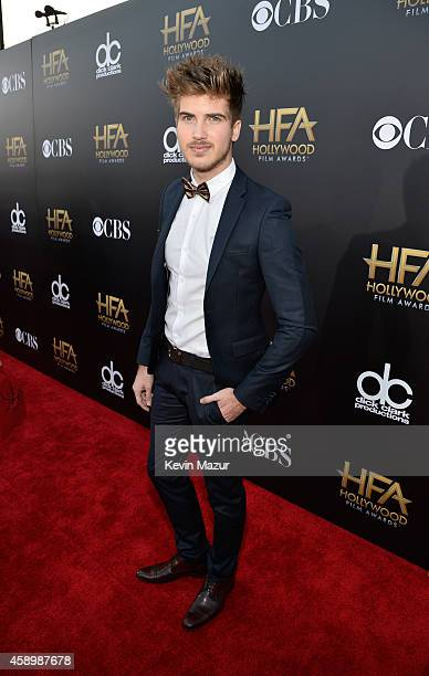 Director Joey Graceffa attends the 18th Annual Hollywood Film Awards at The Palladium on November 14 2014 in Hollywood California