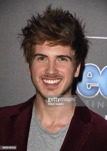 Director Joey Graceffa attends the PEOPLE Magazine Awards at The Beverly Hilton Hotel on December 18 2014 in Beverly Hills California