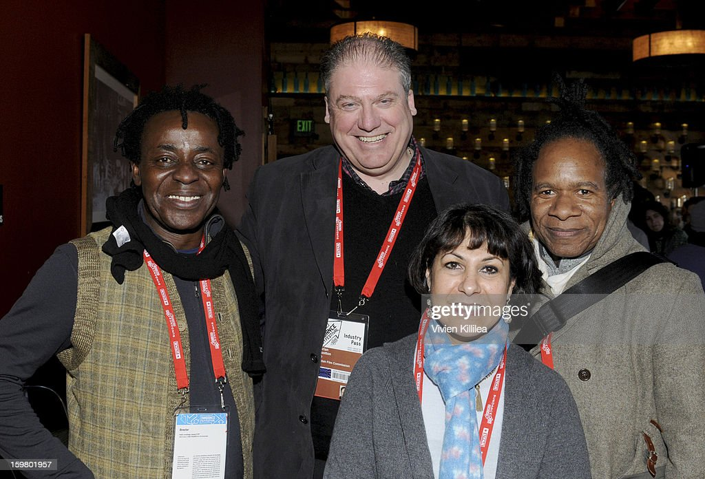 Director John Akomfrah, CEO of the British Film Commission Adrian Wootton, producer Lina Gopaul and and director David Lawson attend the UK Film Brunch at Sundance - 2013 Park City on January 20, 2013 in Park City, Utah.