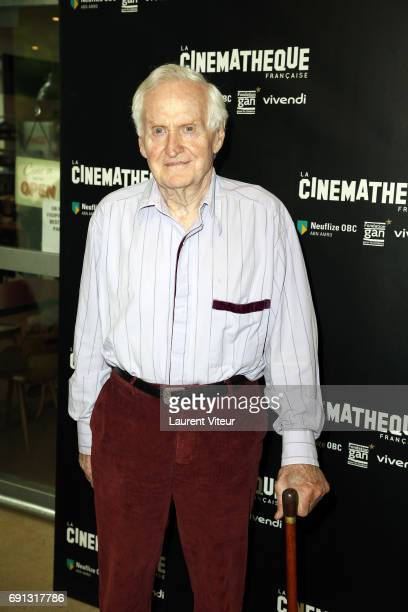 Director John Boorman attends his retrospective at Cinematheque Francaise on June 1 2017 in Paris France