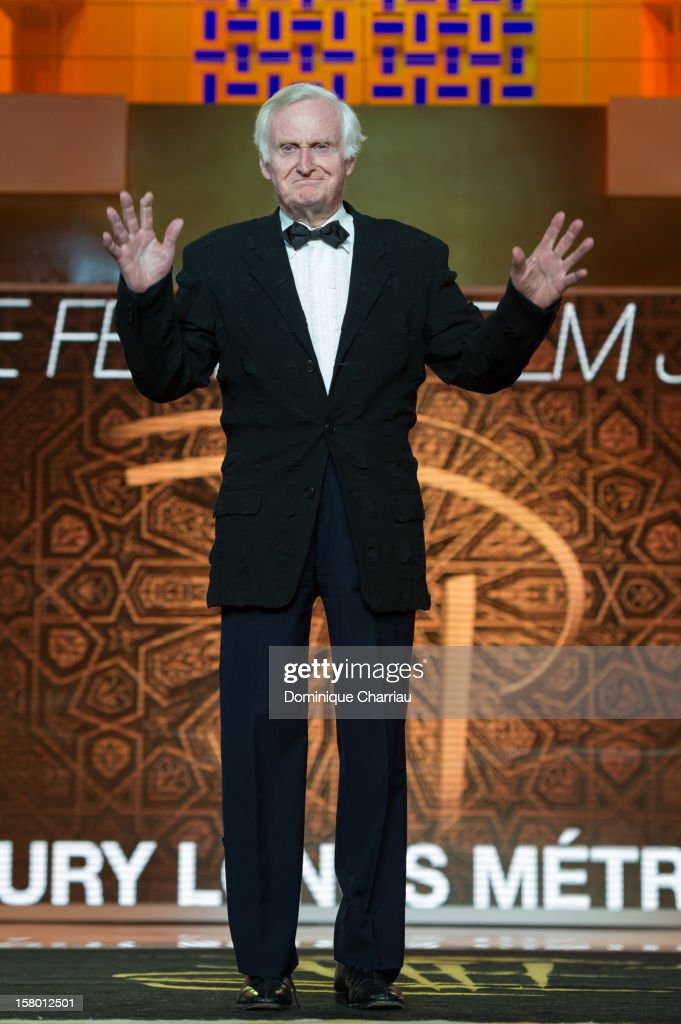 US Director John Boorman attends the awrard ceremony of the 12th International Marrakech Film Festival on December 8, 2012 in Marrakech, Morocco.