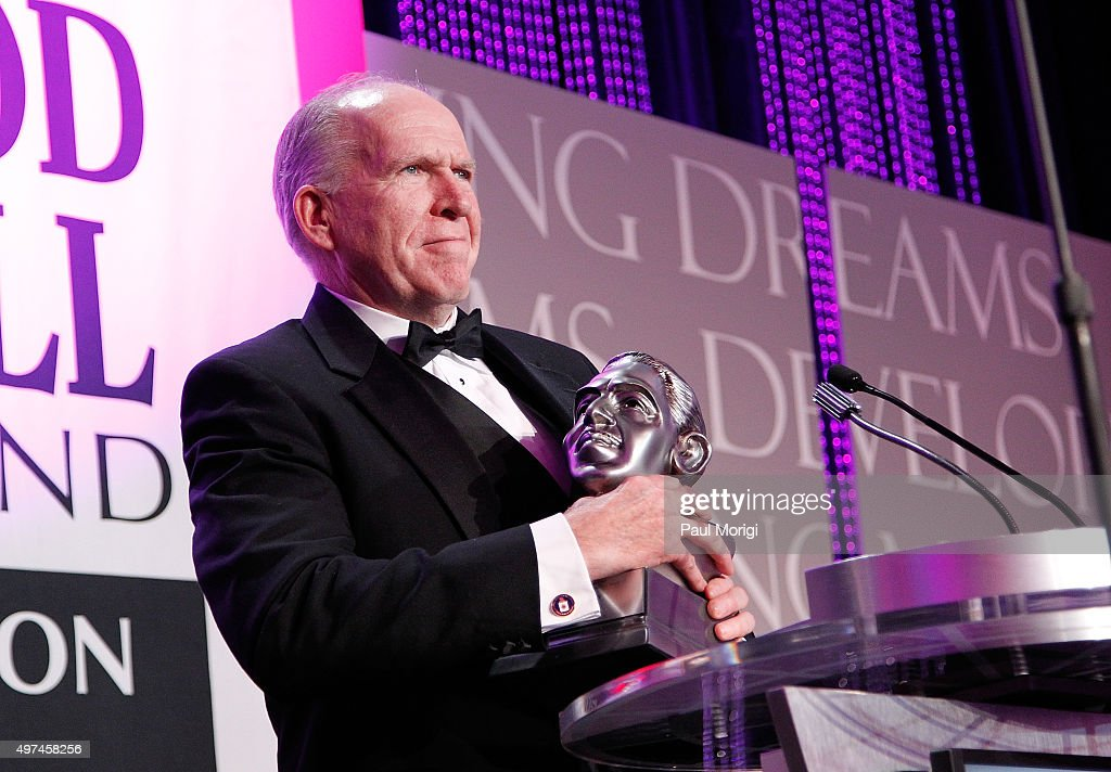 Director John Brennan receives the National Hero Award at the Thurgood Marshall College Fund 27th Annual Awards Gala at the Washington Hilton on November 16, 2015 in Washington, DC.