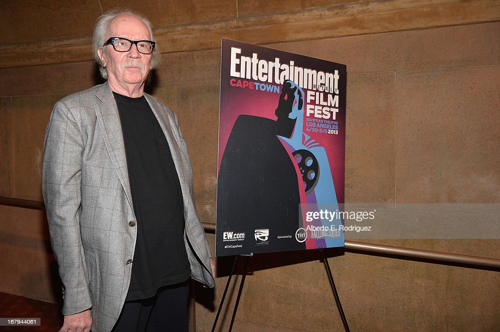 Director John Carpenter attends Entertainment Weekly's CapeTown Film Festival presented by The American Cinematheque and TNT's 'Falling Skies' at the...