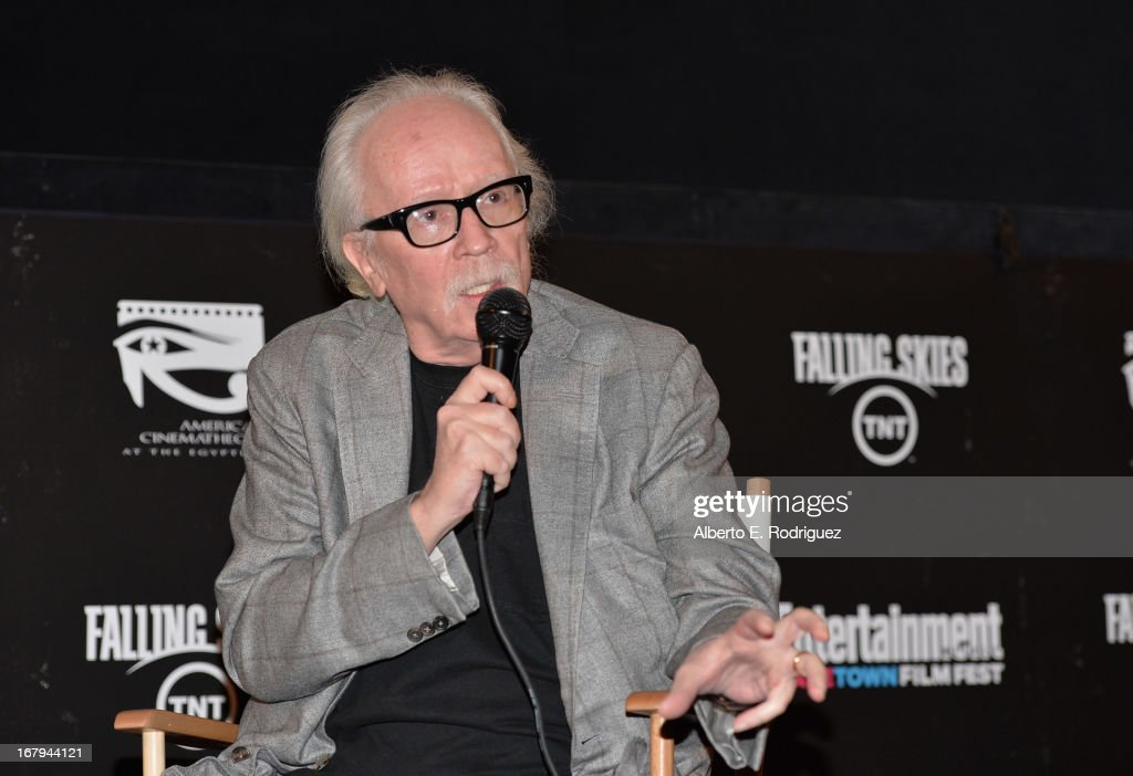 Director <a gi-track='captionPersonalityLinkClicked' href=/galleries/search?phrase=John+Carpenter&family=editorial&specificpeople=1243793 ng-click='$event.stopPropagation()'>John Carpenter</a> attends Entertainment Weekly's CapeTown Film Festival presented by The American Cinematheque and TNT's 'Falling Skies' at the Egyptian Theatre on May 2, 2013 in Hollywood, California.