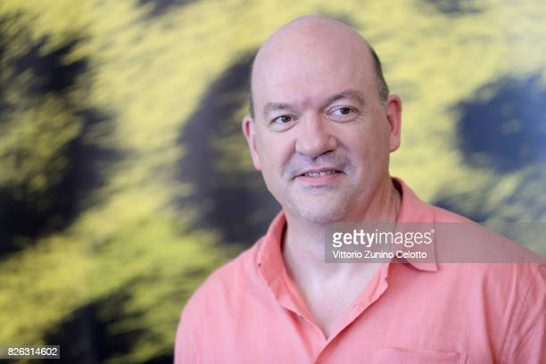Director John Carroll Lynch attends 'Lucky' photocall during the 70th Locarno Film Festival on August 4 2017 in Locarno Switzerland