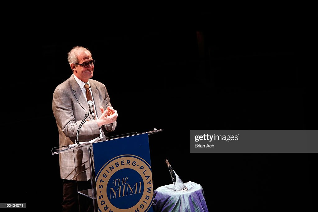 Director John Clinton Eisner speaks onstage at The 2013 Steinberg Playwright 'Mimi' Awards presented by The Harold and Mimi Steinberg Charitable Trust at Lincoln Center Theater on November 18, 2013 in New York City.