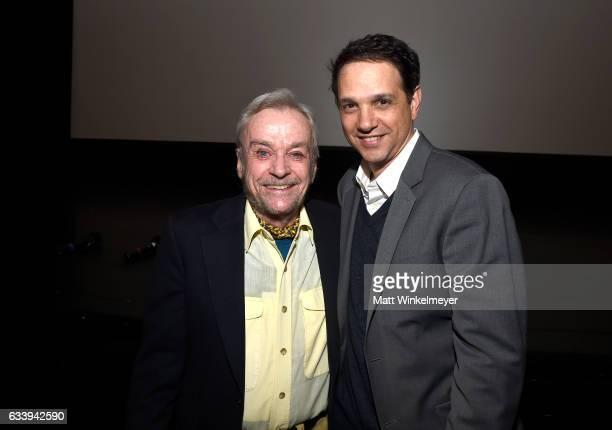 Director John G Avildsen and actor Ralph Macchio attend a screening of 'John G Avildsen King of the Underdogs' during the 32nd Santa Barbara...