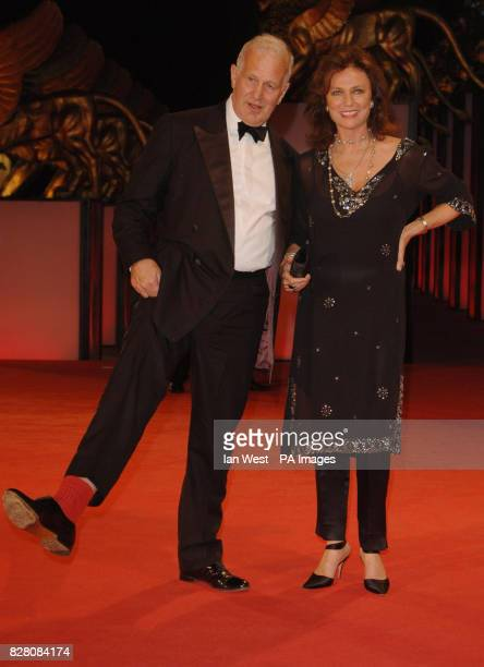 Director John Irvine and actress Jacqueline Bisset attends a photocall for their new film The Fine Art Of LoveMine Ha Ha at the 62nd Venice Film...