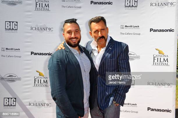 Director John J Budion and Wass Stevens attend the 2017 Catalina Film Festival on September 30 2017 in Catalina Island California