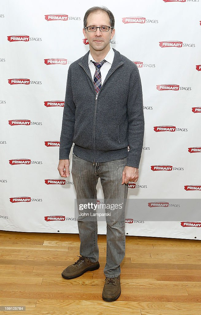 Director John Rando attends the 'All In The Timing' Press Preview at Primary Stages Rehearsal Studio on January 8, 2013 in New York City.