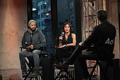 Director John Ridley and Actress Felicity Huffman attend the AOL BUILD series to discuss 'American Crime' season two at AOL Studios In New York on...