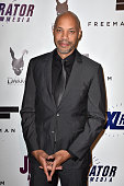 Director John Ridley arrives at the Screening Of 'Jimi All Is By My Side' at ArcLight Cinemas on September 22 2014 in Hollywood California