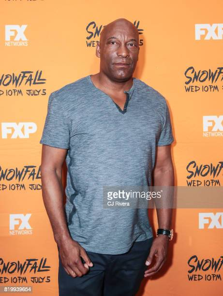Director John Singleton attends the New York screening of 'Snowfall' at The Schomburg Center for Research in Black Culture on July 20 2017 in New...