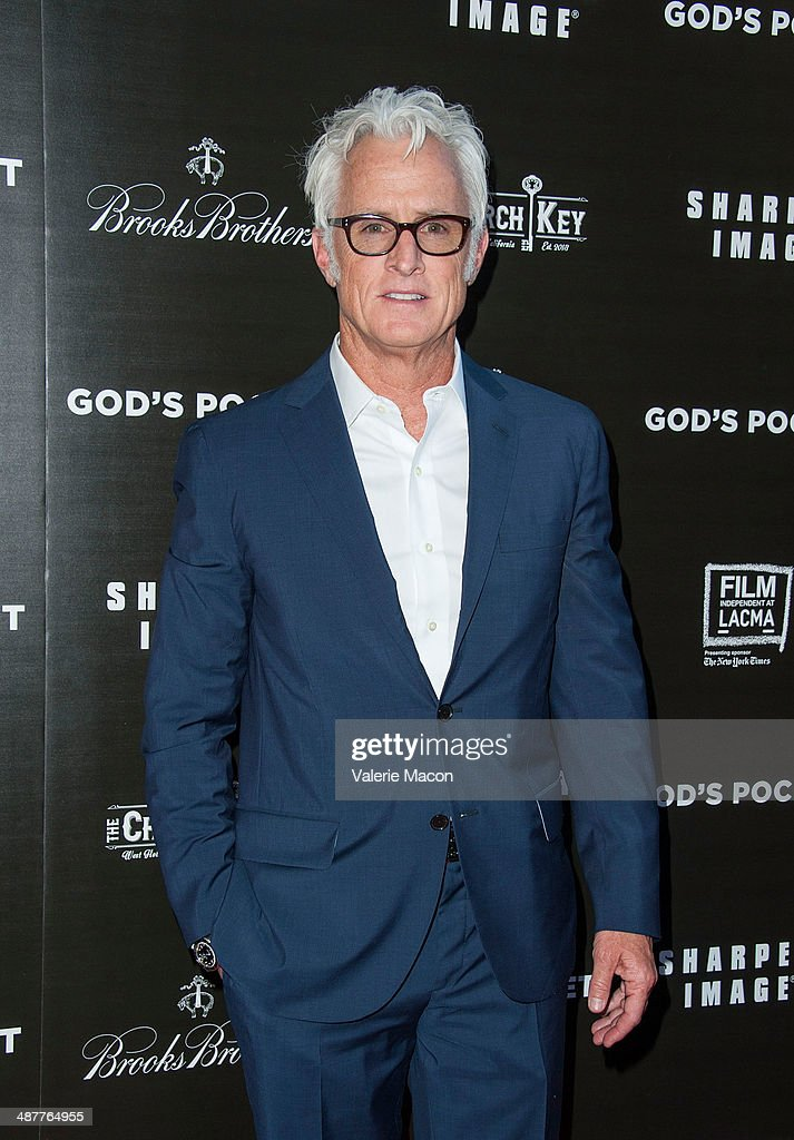 Director <a gi-track='captionPersonalityLinkClicked' href=/galleries/search?phrase=John+Slattery&family=editorial&specificpeople=857095 ng-click='$event.stopPropagation()'>John Slattery</a> arrives at the Premiere Of IFC Films' 'God's Pocket' at LACMA on May 1, 2014 in Los Angeles, California.