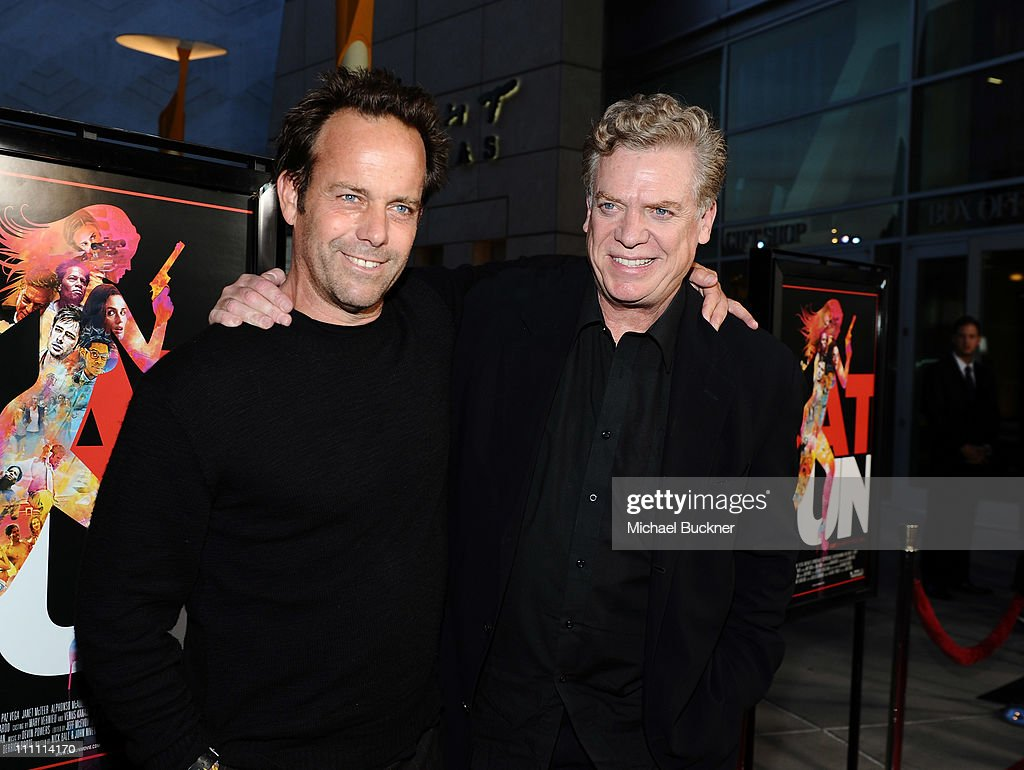 Director John Stockwell and actor Christopher McDonald arrive at the Los Angeles Screening of 'Cat Run' at ArcLight Cinemas on March 29 2011 in...