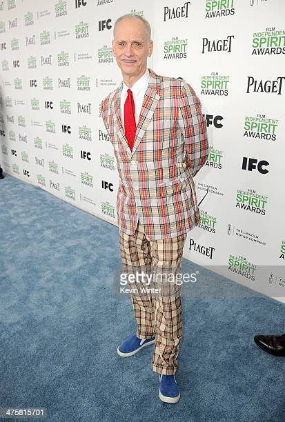 Director John Waters attends the 2014 Film Independent Spirit Awards at Santa Monica Beach on March 1 2014 in Santa Monica California