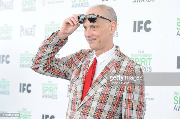 Director John Waters attends the 2014 Film Independent Spirit Awards on March 1 2014 in Santa Monica California