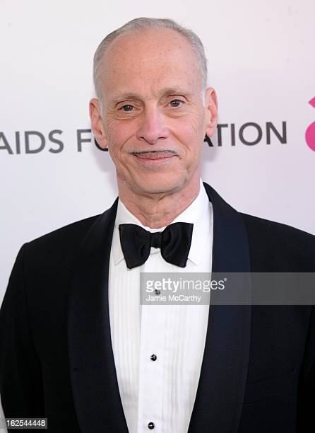 Director John Waters attends the 21st Annual Elton John AIDS Foundation Academy Awards Viewing Party at West Hollywood Park on February 24 2013 in...