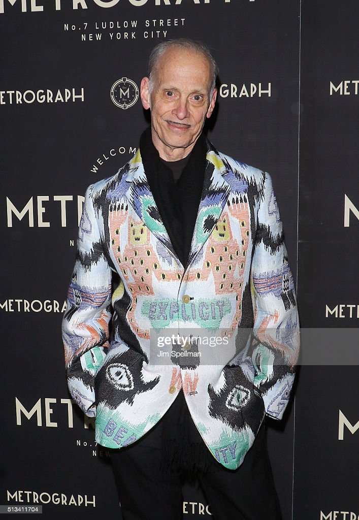 Director John Waters attends the Metrograph opening night at Metrograph on March 2, 2016 in New York City.