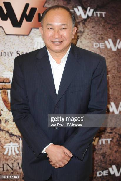 AP OUT Director John Woo attends a press conference for his new epic action movie 'Red Cliff' at the Carlton Hotel during the 61st Cannes Film...