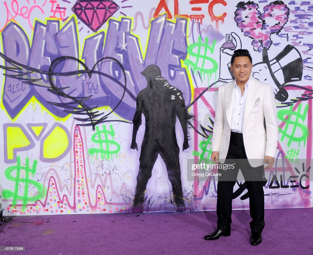 Director Jon M. Chu arrives at the world premiere of 'Justin Bieber's Believe' at Regal Cinemas L.A. Live on December 18, 2013 in Los Angeles, California.