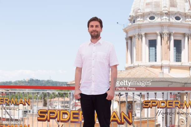 Director Jon Watts during Photocall of the movie 'SpiderMan Homecoming'