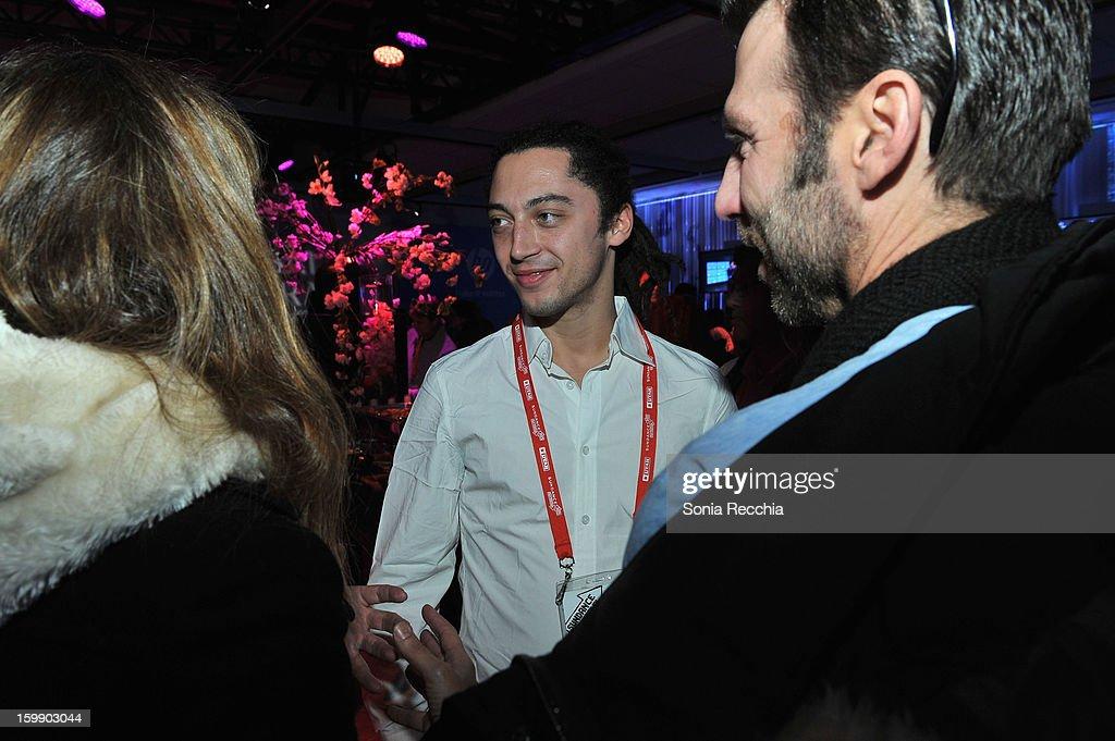 Director Jonas Carpignano attends the Sundance Institute Mahindra Global Filmmaking Award Reception at Sundance House on January 22, 2013 in Park City, Utah.