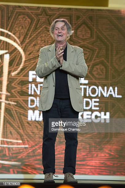 Director Jonathan Demme attends his tribute during the 12th International Marrakech Film Festival on December 6 2012 in Marrakech Morocco