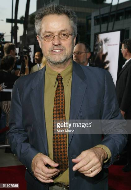 Director Jonathan Demme attends the premiere of 'The Manchurian Candidate' on July 22 2004 at the Samuel Goldwyn Theatre in Los Angeles California