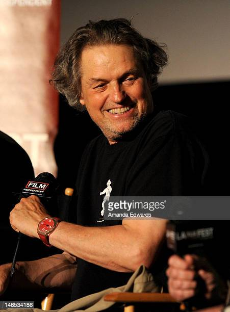 Director Jonathan Demme speaks onstage during the 'Neil Young Journeys' QA at the 2012 Los Angeles Film Festival held at Regal Cinemas LA Live on...