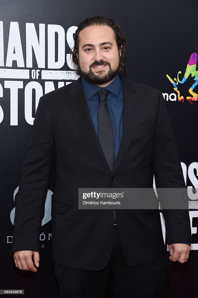Director Jonathan Jakubowicz attends the 'Hands Of Stone' US premiere at SVA Theater on August 22 2016 in New York City