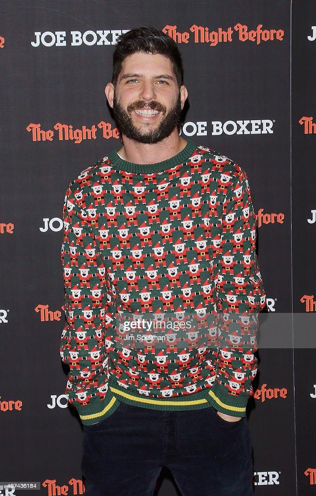 Director Jonathan Levine attends the 'The Night Before' New York premiere at Landmark Sunshine Cinema on November 16, 2015 in New York City.