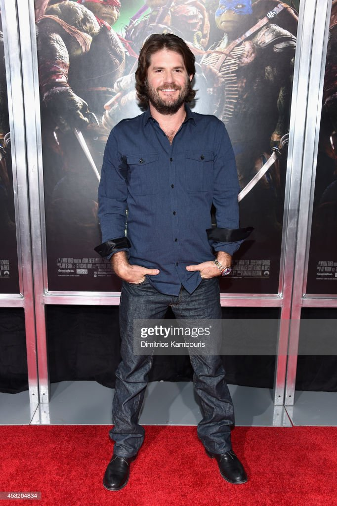 Director <a gi-track='captionPersonalityLinkClicked' href=/galleries/search?phrase=Jonathan+Liebesman&family=editorial&specificpeople=3210478 ng-click='$event.stopPropagation()'>Jonathan Liebesman</a> attends the 'Teenage Mutant Ninja Turtles' New York premiere at AMC Lincoln Square Theater on August 6, 2014 in New York City.