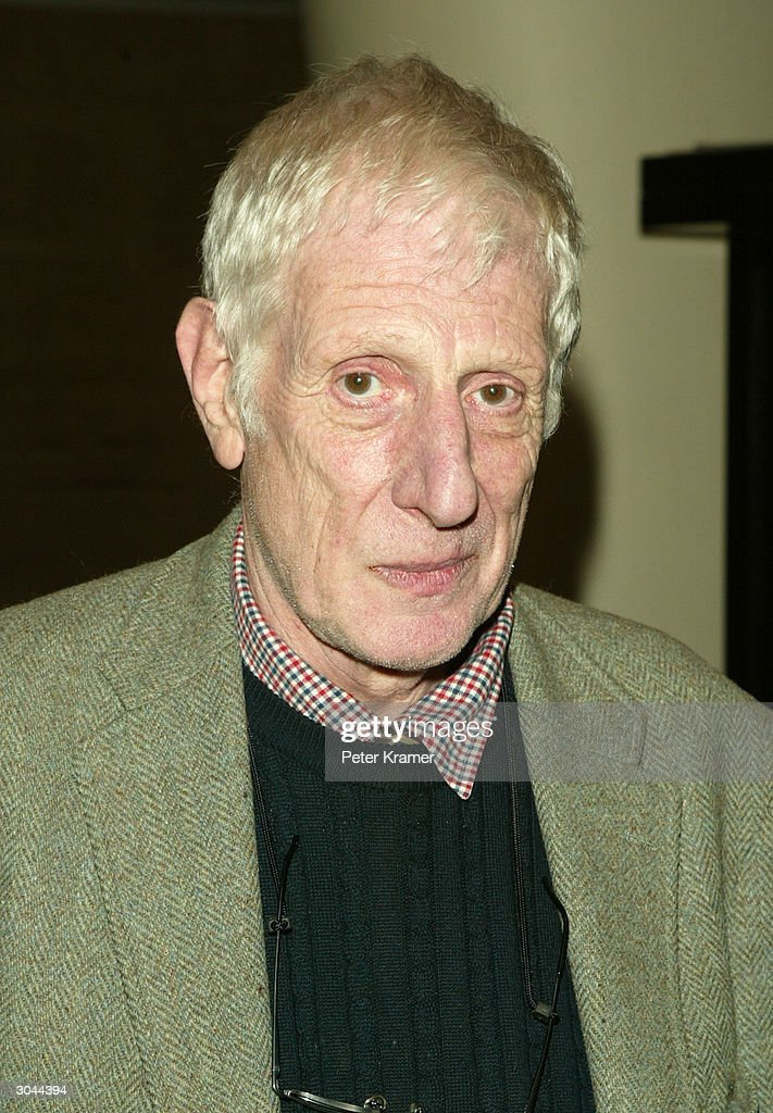Director Jonathan Miller attends the after party for Lincoln Centers opening night of 'King Lear' March 4 2004 in New York City