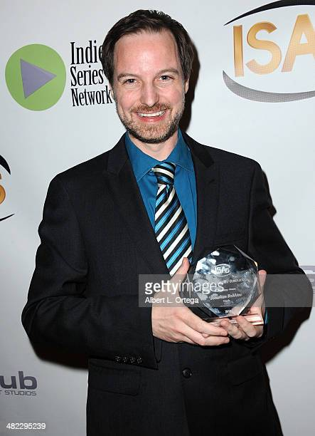 Director Jonathan Robbins Best Director for a Drama for 'Clutch' attends 5th Annual Indie Series Awards held at El Portal Theatre on April 2 2014 in...