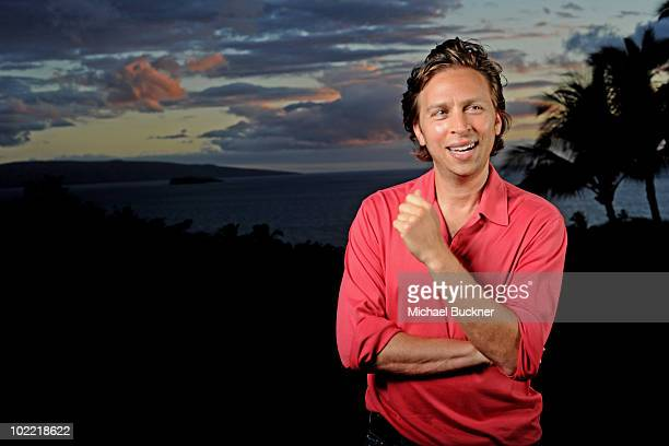 Director Jonathan Segal poses for a portrait at the premiere of 'Norman' during the 2010 Maui Film Festival at the Celestial Cinema on June 18 2010...