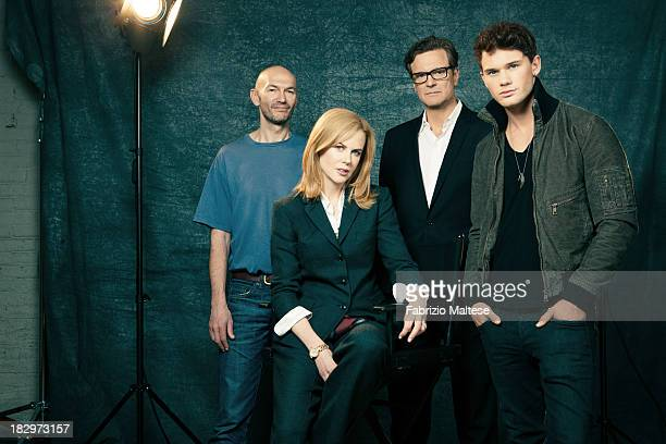 Director Jonathan Teplitzky and actors Colin Firth Nicole Kidman Jeremy Irvine are photographed for The Hollywood Reporter during the 38th annual...