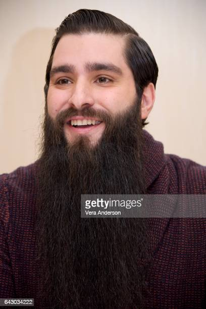 Director Jordan VogtRoberts at the 'Kong Skull Island' Press Conference at the JW Marriott at LA Live on February 19 2017 in Los Angeles California