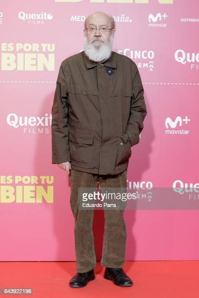 Director Jose Luis Cuerda attends the 'Es por tu bien' premiere at Capitol cinema on February 22 2017 in Madrid Spain