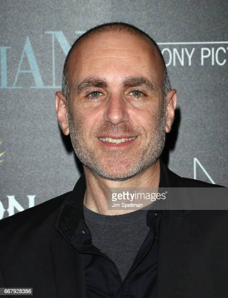 Director Joseph Cedar attend the screening of Sony Pictures Classics' 'Norman' hosted by The Cinema Society with NARS AVION at the Whitby Hotel on...