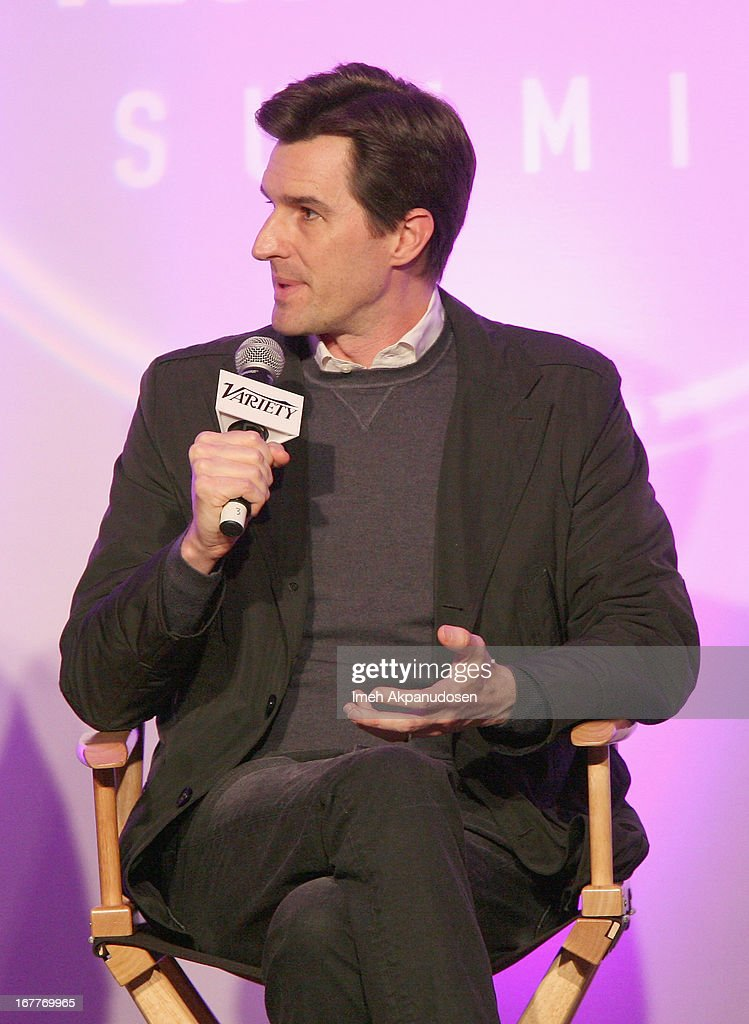 Director <a gi-track='captionPersonalityLinkClicked' href=/galleries/search?phrase=Joseph+Kosinski&family=editorial&specificpeople=7113921 ng-click='$event.stopPropagation()'>Joseph Kosinski</a> speaks onstage at Variety's Spring 2013 Entertainment and Technology Summit Co-Produced with Digital Hollywood at Ritz Carlton Marina Del Rey on April 29, 2013 in Marina del Rey, California.