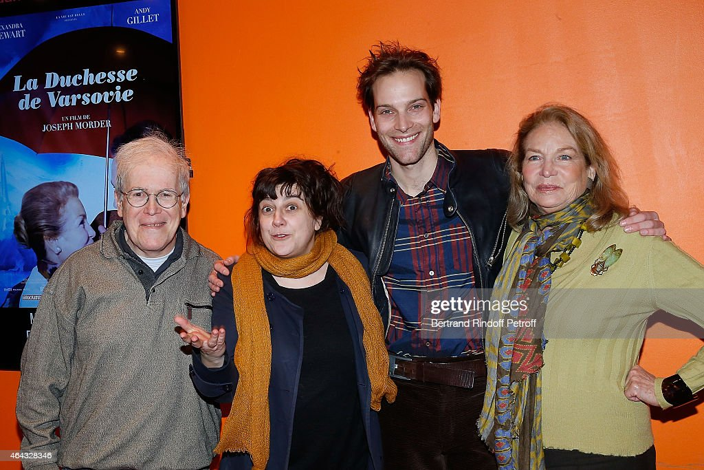 "'La Duchesse De Varsovie"" Paris Premiere At Cinema Gaumont Opera"