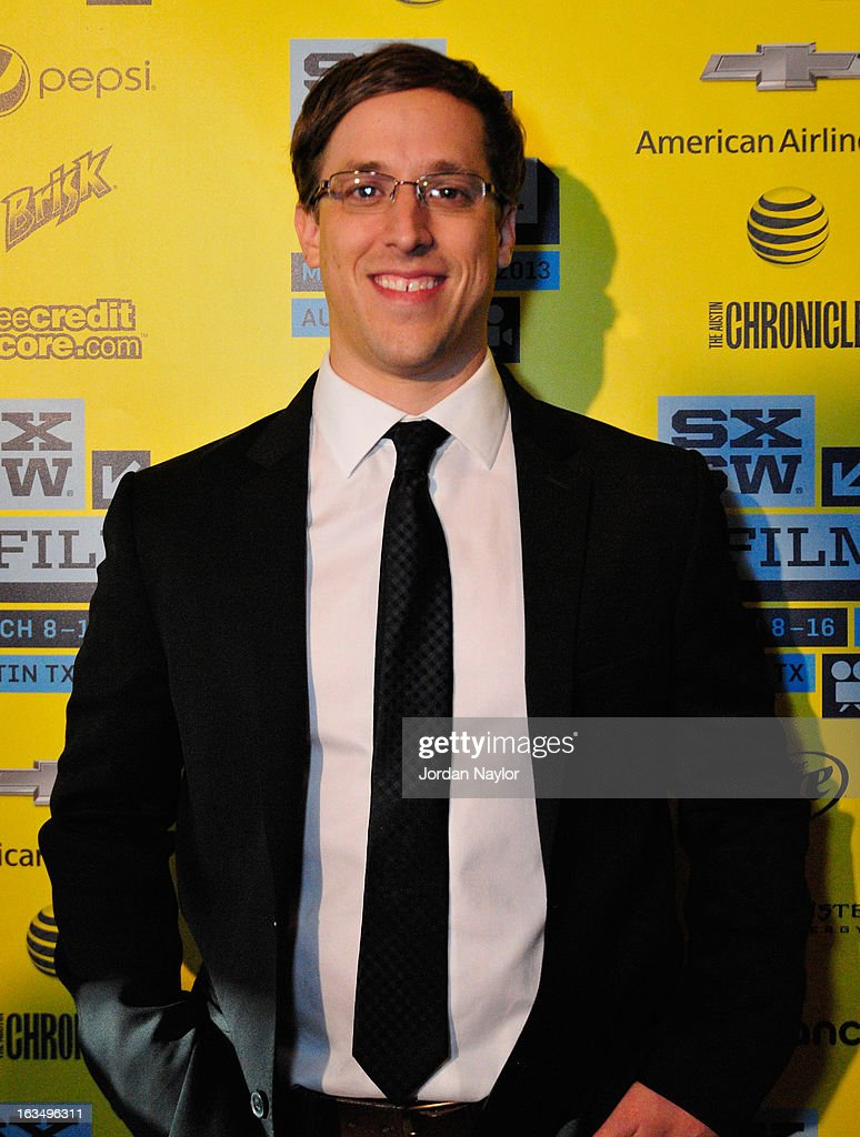 Director Josh Greenbaum poses in the greenroom at the screening of 'The Short Game' during the 2013 SXSW Music, Film + Interactive Festival at Stateside Theater on March 10, 2013 in Austin, Texas.