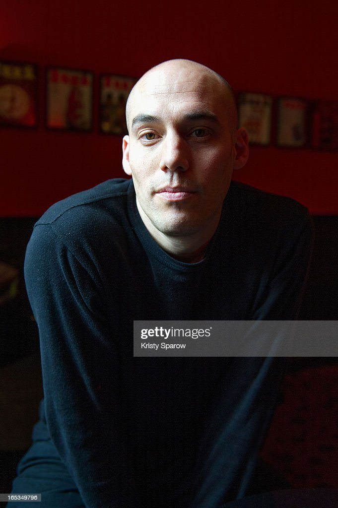Director Joshua Oppenheimer poses for a portrait at the Hotel Alba Opera on April 3, 2013 in Paris, France.