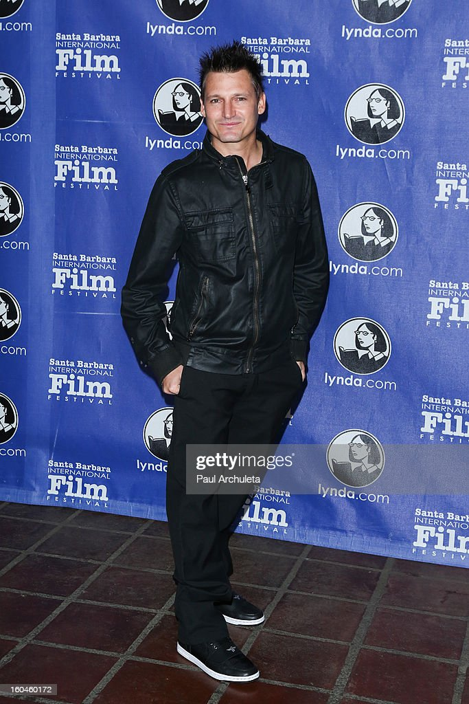 Director Joshua Pomer attends the 28th Santa Barbara Film Festival Cinema Vanguard award ceremony at the Arlington Theatre on January 31, 2013 in Santa Barbara, California.