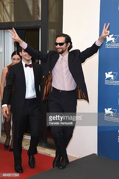 Director Joshua Safdie attends the 'Heaven Knows What' photocall during the 71st Venice Film Festival on August 29 2014 in Venice Italy