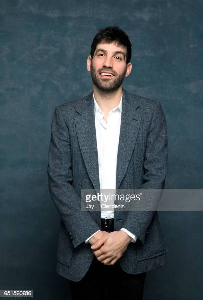 Director Joshua Z Weinstein from the film Menashe is photographed at the 2017 Sundance Film Festival for Los Angeles Times on January 23 2017 in Park...