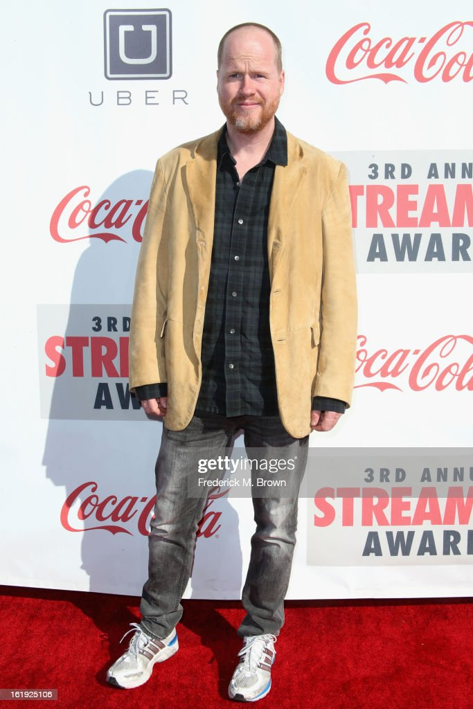 Director <a gi-track='captionPersonalityLinkClicked' href=/galleries/search?phrase=Joss+Whedon&family=editorial&specificpeople=2212235 ng-click='$event.stopPropagation()'>Joss Whedon</a> attends the 3rd Annual Streamy Awards at Hollywood Palladium on February 17, 2013 in Hollywood, California.